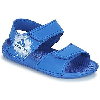 Încăltăminte Copii Sandale și Sandale cu talpă  joasă adidas Originals ALTASWIM C Albastru