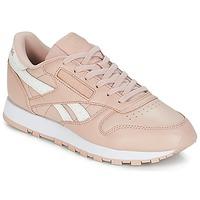Încăltăminte Femei Pantofi sport Casual Reebok Classic CLASSIC LEATHER Roz / Alb