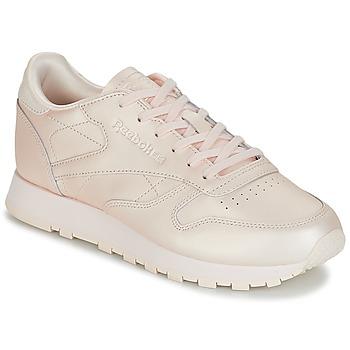 Încăltăminte Femei Pantofi sport Casual Reebok Classic CLASSIC LEATHER Roz