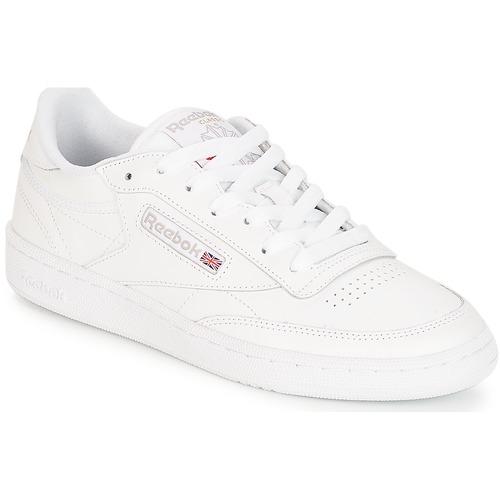 Pantofi Femei Pantofi sport Casual Reebok Classic CLUB C 85 Alb