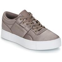 Încăltăminte Femei Pantofi sport Casual Reebok Classic WORKOUT LO FVS TXT Gri