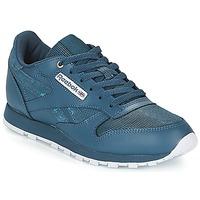 Încăltăminte Copii Pantofi sport Casual Reebok Classic CLASSIC LEATHER J Bleumarin