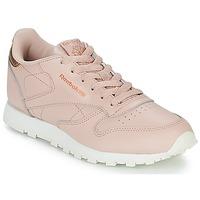 Încăltăminte Fete Pantofi sport Casual Reebok Classic CLASSIC LEATHER J Roz