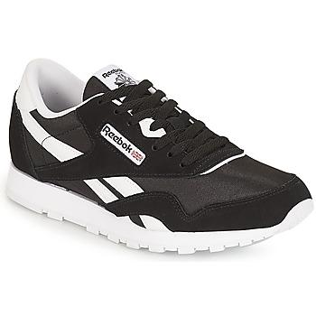Încăltăminte Copii Pantofi sport Casual Reebok Classic CLASSIC NYLON J Negru / Alb