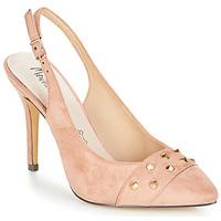 Pantofi Femei Sandale și Sandale cu talpă  joasă Menbur DINITARSA Bej / Roz