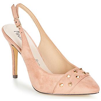 Pantofi Femei Sandale  Menbur DINITARSA Bej / Roz