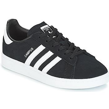 Încăltăminte Copii Pantofi sport Casual adidas Originals CAMPUS C Negru