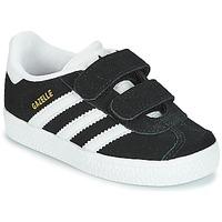 Încăltăminte Copii Pantofi sport Casual adidas Originals GAZELLE CF I Negru