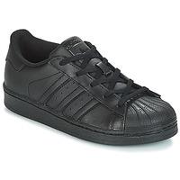 Încăltăminte Copii Pantofi sport Casual adidas Originals SUPERSTAR C Negru