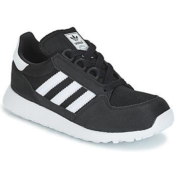 Încăltăminte Copii Pantofi sport Casual adidas Originals OREGON C Negru
