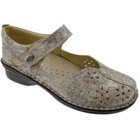 Pantofi Femei Balerin și Balerini cu curea Calzaturificio Loren LOM2313be blu