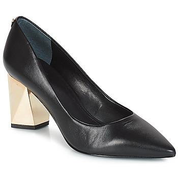 Încăltăminte Femei Pantofi cu toc Guess BAFI Negru / Auriu