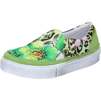 Pantofi Femei Pantofi Slip on 2 Stars BZ531 Verde