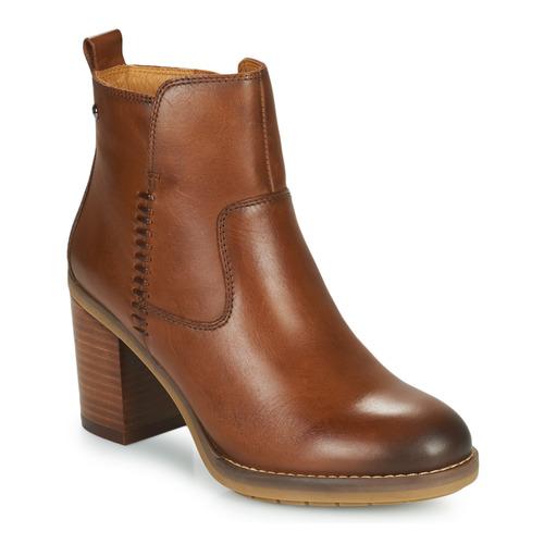 Pantofi Femei Botine Pikolinos POMPEYA W9T Camel