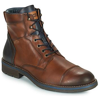 Pantofi Bărbați Ghete Pikolinos YORK M2M Maro / Bleumarin