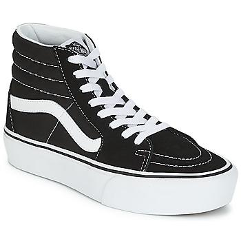 Încăltăminte Femei Pantofi sport stil gheata Vans SK8-HI PLATFORM 2.1 Negru / Alb