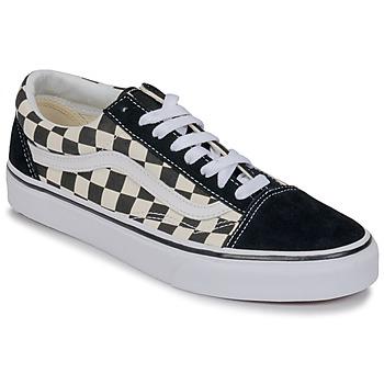 Încăltăminte Pantofi sport Casual Vans OLD SKOOL Alb / Negru