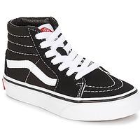 Încăltăminte Copii Pantofi sport stil gheata Vans UY SK8-HI Negru / Alb