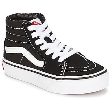Pantofi Copii Pantofi sport stil gheata Vans UY SK8-HI Negru / Alb
