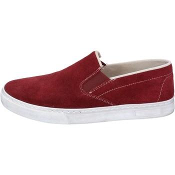 Pantofi Bărbați Pantofi Slip on Nyon BZ901 roșu