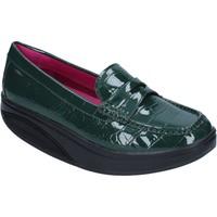 Pantofi Femei Mocasini Mbt Mocasini BZ906 Verde
