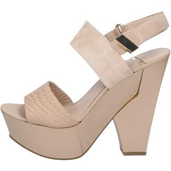 Pantofi Femei Sandale  Marciano sandali beige camoscio pelle BZ430 Beige