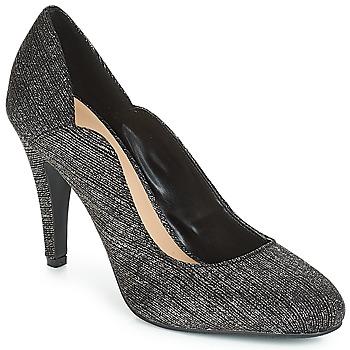 Încăltăminte Femei Pantofi cu toc Moony Mood JANNEE Negru / Argintiu