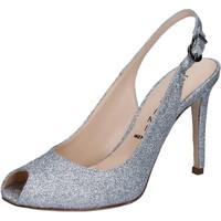 Pantofi Femei Sandale  Capitini sandali argento glitter BZ492 Argento