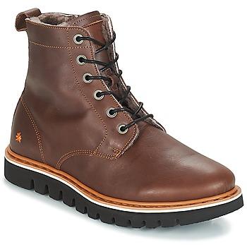 Pantofi Bărbați Ghete Art TORONTO Maro