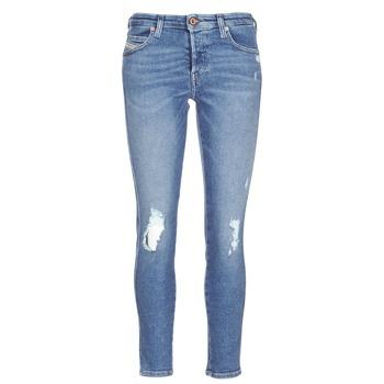 Îmbracaminte Femei Jeans slim Diesel BABHILA Albastru / 084wp
