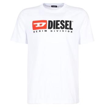 Îmbracaminte Bărbați Tricouri mânecă scurtă Diesel T JUST DIVISION Alb