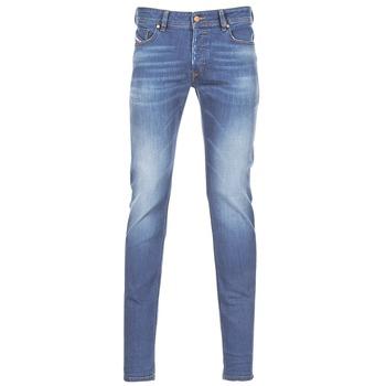 Îmbracaminte Bărbați Jeans skinny Diesel SLEENKER Albastru / 084yk