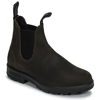 Pantofi Ghete Blundstone SUEDE CLASSIC BOOT Kaki