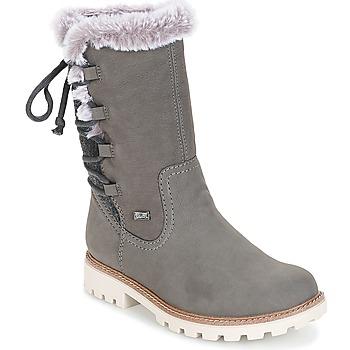 Pantofi Femei Cizme casual Rieker  Gri