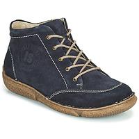 Pantofi Femei Ghete Josef Seibel Neele 01 Bleumarin