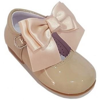 Pantofi Fete Pantofi Oxford  Bambi 19580 Maro