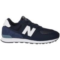 Pantofi Copii Pantofi sport Casual New Balance GC574D4 Alb,Albastru marim