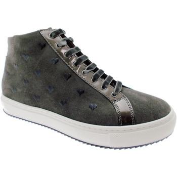 Pantofi Femei Ghete Calzaturificio Loren LOC3763gr grigio