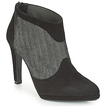 Pantofi Femei Botine Peter Kaiser PATRINA Negru / Gri