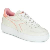 Pantofi Femei Pantofi sport Casual Diadora B.ELITE L WIDE WN Ecru / Roz