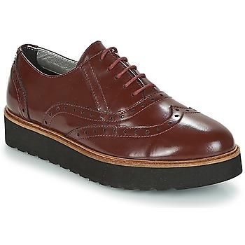 Pantofi Femei Pantofi Derby Ippon Vintage ANDY THICK Roșu-bordeaux