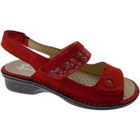 Pantofi Femei Sandale  Calzaturificio Loren LOM2716ro rosso