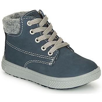 Pantofi Băieți Ghete Primigi BARTH 19 Albastru / Gri