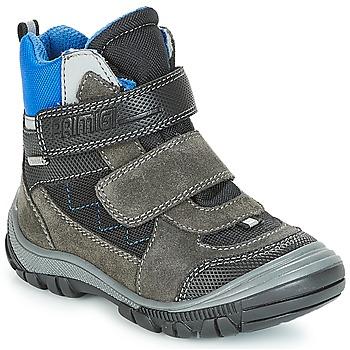 Pantofi Băieți Cizme de zapadă Primigi PNA 24355 GORE-TEX Gri / Albastru