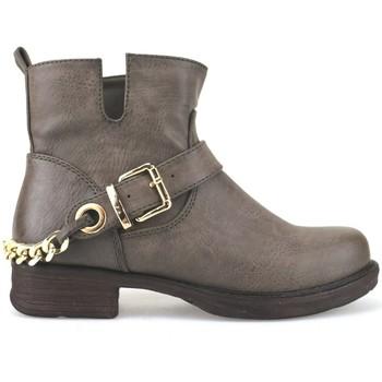 Pantofi Femei Botine Francescomilano AJ227 Maro