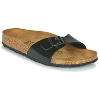 Pantofi Femei Papuci de vară Birkenstock MADRID Negru / Lac