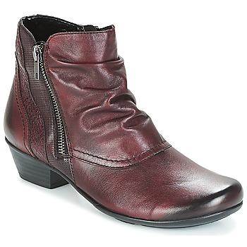 Pantofi Femei Botine Remonte Dorndorf SORIAL Bordowy