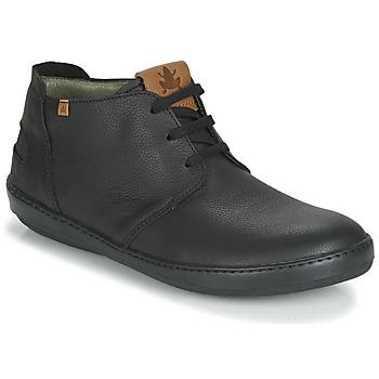 Pantofi Bărbați Ghete El Naturalista METEO Negru