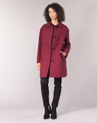 Îmbracaminte Femei Paltoane Sisley FAREDA Roșu-bordeaux
