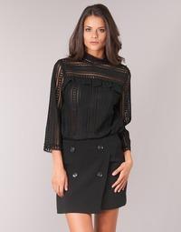 Îmbracaminte Femei Topuri și Bluze See U Soon TELICA Negru